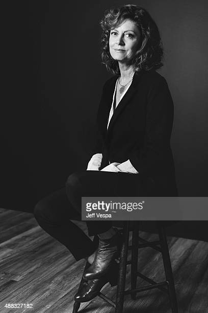 Actress Susan Sarandon of 'The Meddler' poses for a portrait at the 2015 Toronto Film Festival at the TIFF Bell Lightbox on September 15 2015 in...