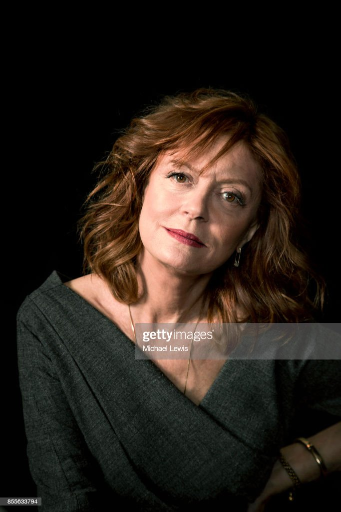 Actress Susan Sarandon photographed for New York Observer on April 16, 2016, in Los Angeles, California.