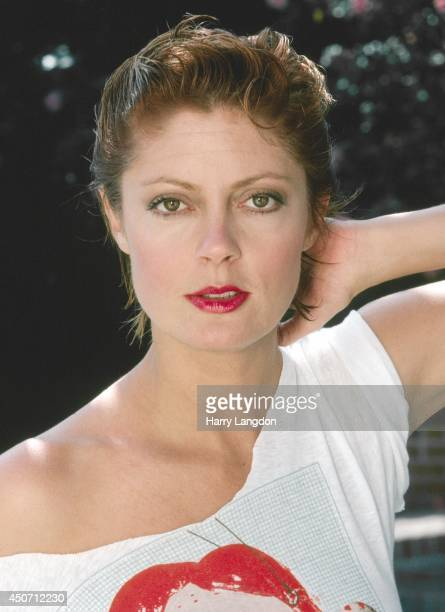 Actress Susan Sarandon poses for a portrait in 1982 in Los Angeles California
