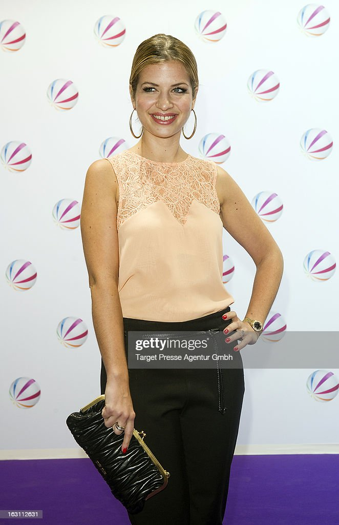 Actress Susan Sideropoulos attends the 'Der Minister' Photocall on March 4, 2013 at Delphi Filmpalast in Berlin, Germany.