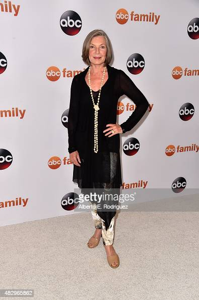 Actress Susan Sullivan attends Disney ABC Television Group's 2015 TCA Summer Press Tour at the Beverly Hilton Hotel on August 4 2015 in Beverly Hills...