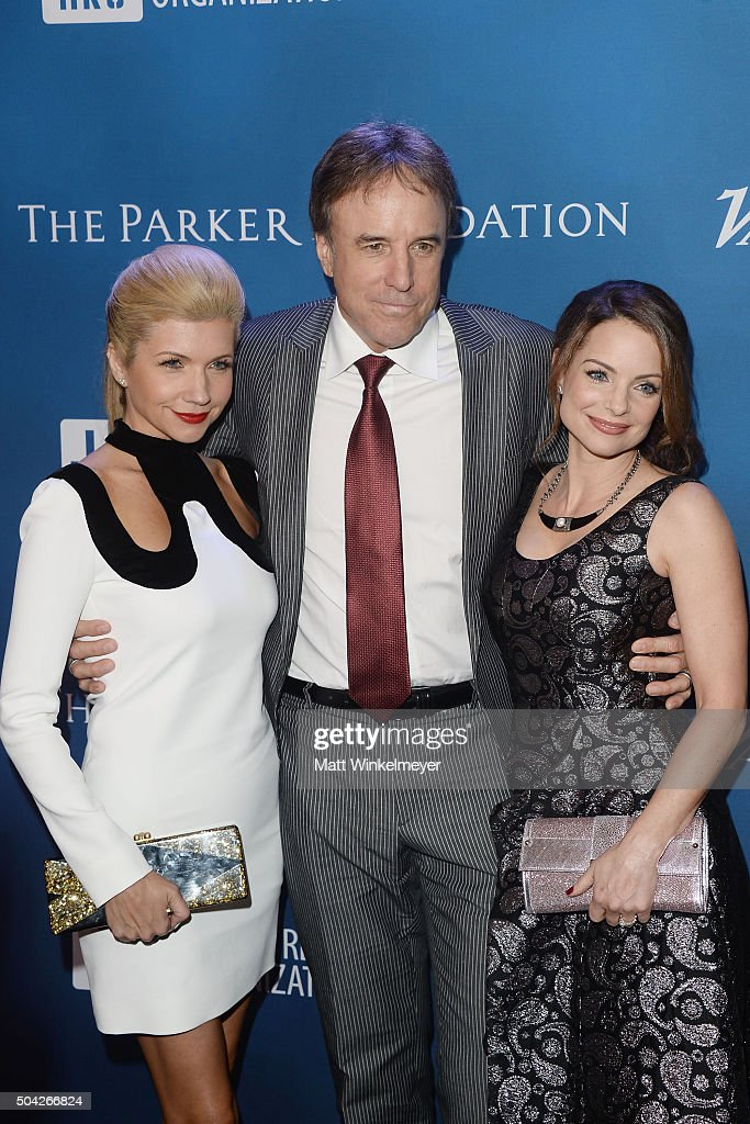 Actress Susan Yeagley, actor Kevin Nealon, and actress Kimberly Williams-Paisley arrive at the 5th Annual Sean Penn & Friends HELP HAITI HOME Gala benefiting J/P Haitian Relief Organization at Montage Hotel on January 9, 2016 in Beverly Hills, California.