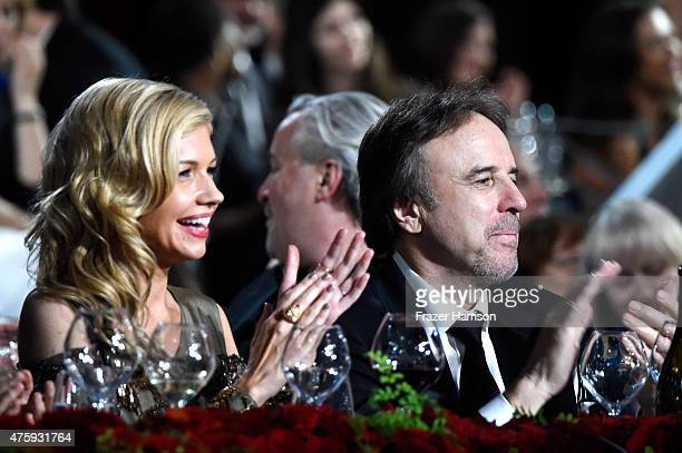 Actress Susan Yeagley and actor/comedian Kevin Nealon attend the 43rd AFI Life Achievement Award Gala honoring Steve Martin at Dolby Theatre on June...