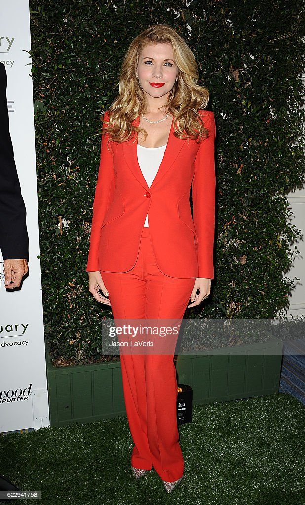 Actress Susan Yeagley attends Farm Sanctuary's 30th anniversary gala at the Beverly Wilshire Four Seasons Hotel on November 12, 2016 in Beverly Hills, California.