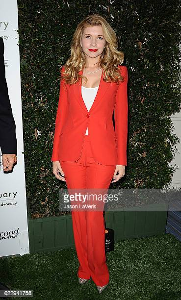Actress Susan Yeagley attends Farm Sanctuary's 30th anniversary gala at the Beverly Wilshire Four Seasons Hotel on November 12 2016 in Beverly Hills...