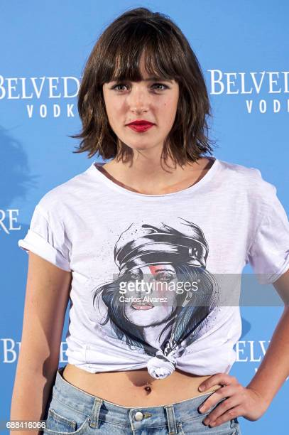 Actress Susana Abaitua attends the Belvedere Vodka party at the Pavon Kamikaze Teather on May 25 2017 in Madrid Spain