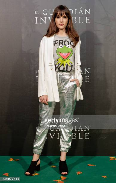 Actress Susana Abaitua attends the 'El guardian invisible' premiere at Capitol cinema on March 1 2017 in Madrid Spain