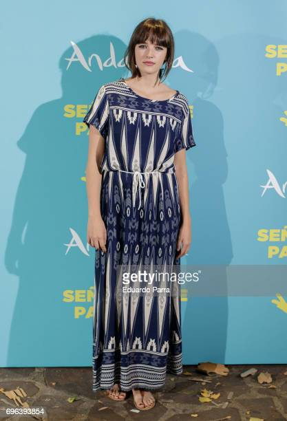 Actress Susana Abaitua attends the 'Senor dame paciencia' premiere at Fortuny Palace on June 15 2017 in Madrid Spain