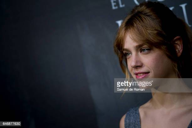 Actress Susana Abaitua during 'El Guardian Invisible' Madrid Premiere on March 1 2017 in Madrid Spain