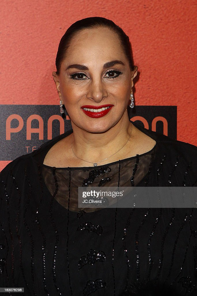 Actress Susana Dosamantes attends the Los Angeles Premiere of 'Pulling Strings' at Regal Cinemas L.A. Live on October 3, 2013 in Los Angeles, California.