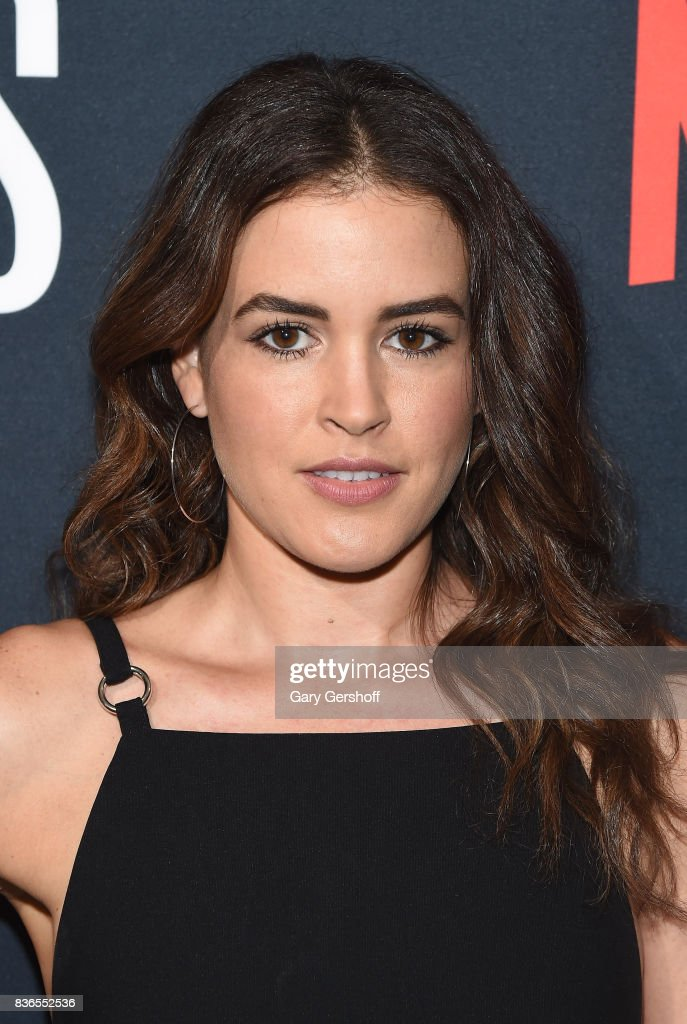 Actress Susana Victoria Perez attends the 'Narcos' Season 3 New York screening at AMC Loews Lincoln Square 13 theater on August 21, 2017 in New York City.