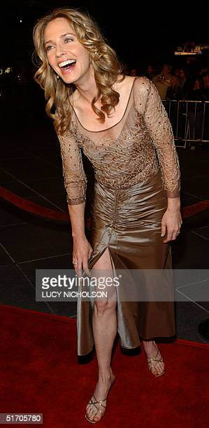 US actress Susanna Thompson arrives at the premiere of her new film 'Dragonfly' in Los Angeles 18 February 2002 AFP PHOTO/Lucy Nicholson