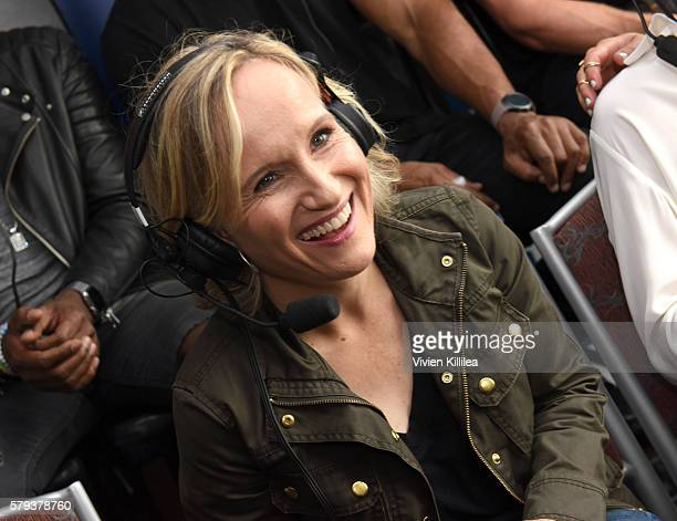 Actress Susanna Thompson attends SiriusXM's Entertainment Weekly Radio Channel Broadcasts From ComicCon 2016 at Hard Rock Hotel San Diego on July 22...