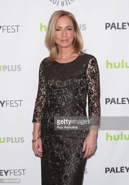 Actress Susanna Thompson attends the 30th Annual PaleyFest featuring the cast of 'Arrow' at the Saban Theatre on March 9 2013 in Beverly Hills...