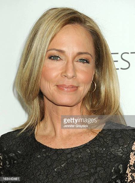 Actress Susanna Thompson attends the 30th Annual PaleyFest The William S Paley Television Festival Honors Arrow held at Saban Theatre on March 9 2013...