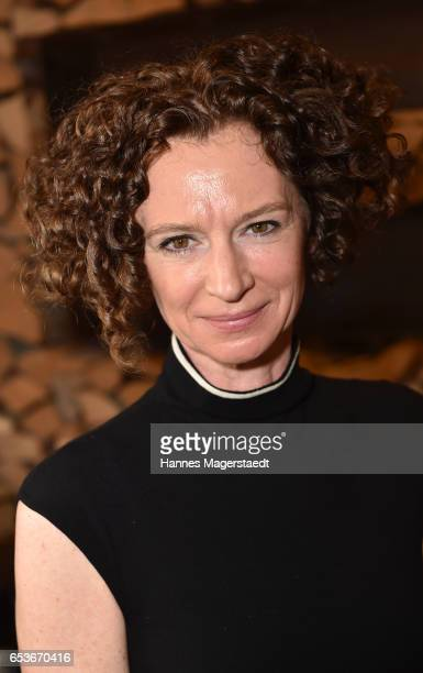 Actress Susanne Steidle during the NdF after work press cocktail at Parkcafe on March 15 2017 in Munich Germany
