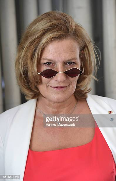 Actress Susanne von Borsody attends the FFF Reception at Praterinsel on July 3 2014 in Munich Germany