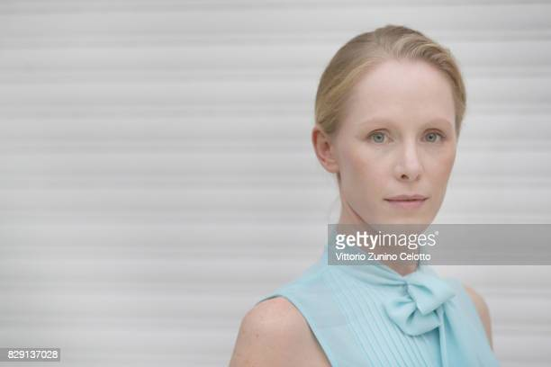 Actress Susanne Wuest poses for a portrait during the 70th Locarno Film Festival on August 8 2017 in Locarno Switzerland