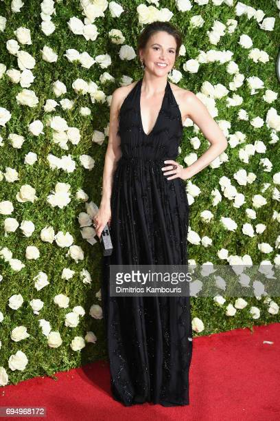 Actress Sutton Foster attends the 2017 Tony Awards at Radio City Music Hall on June 11 2017 in New York City