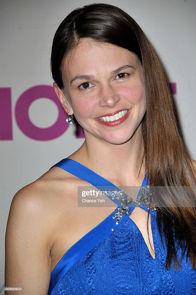 Actress <a gi-track='captionPersonalityLinkClicked' href=/galleries/search?phrase=Sutton+Foster&family=editorial&specificpeople=220522 ng-click='$event.stopPropagation()'>Sutton Foster</a> attends the 'Violet' Opening Night at American Airlines Theatre on April 20, 2014 in New York City.