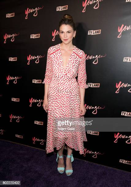 Actress Sutton Foster attends the 'Younger' season four premiere party on June 27 2017 in New York City