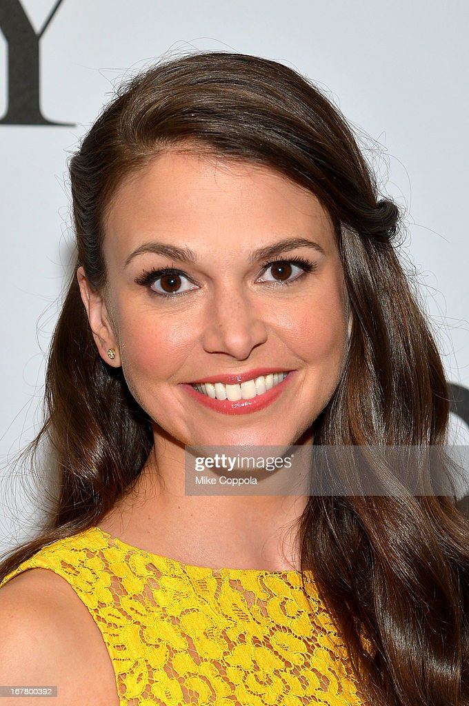 Actress Sutton Foster during the 2013 Tony Awards Nominations Ceremony at The New York Public Library for Performing Arts on April 30, 2013 in New York City.