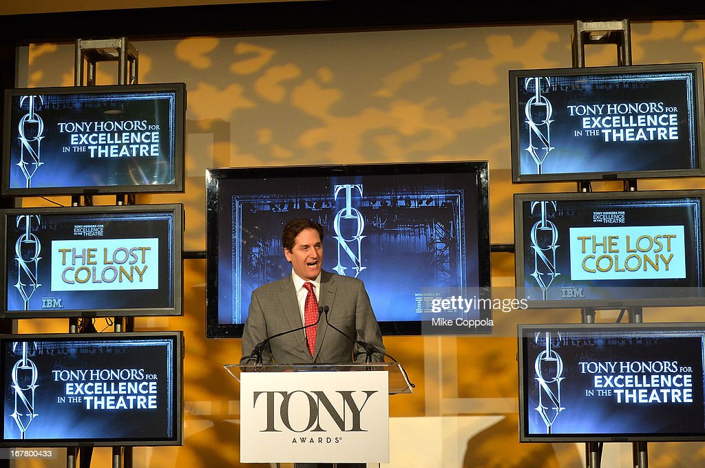 Actress <a gi-track='captionPersonalityLinkClicked' href=/galleries/search?phrase=Sutton+Foster&family=editorial&specificpeople=220522 ng-click='$event.stopPropagation()'>Sutton Foster</a> during the 2013 Tony Awards Nominations Ceremony at The New York Public Library for Performing Arts on April 30, 2013 in New York City.
