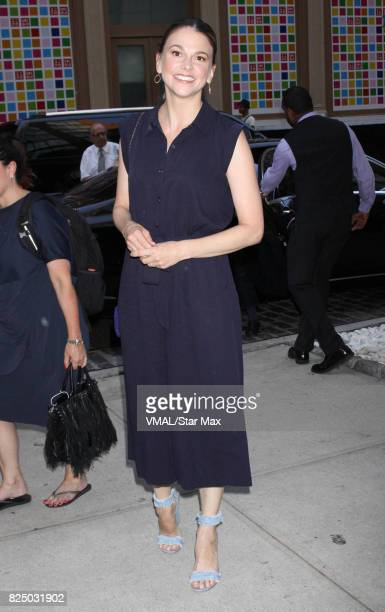 Actress Sutton Foster is seen on July 31 2017 in New York City