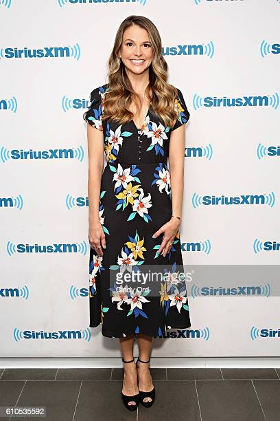 Actress Sutton Foster visits the SiriusXM Studios on September 26 2016 in New York City
