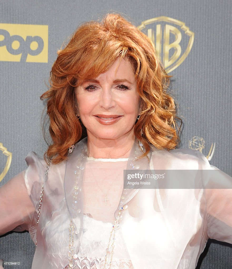 Actress <a gi-track='captionPersonalityLinkClicked' href=/galleries/search?phrase=Suzanne+Rogers+-+Actress&family=editorial&specificpeople=13902592 ng-click='$event.stopPropagation()'>Suzanne Rogers</a> arrives at the 42nd Annual Daytime Emmy Awards at Warner Bros. Studios on April 26, 2015 in Burbank, California.