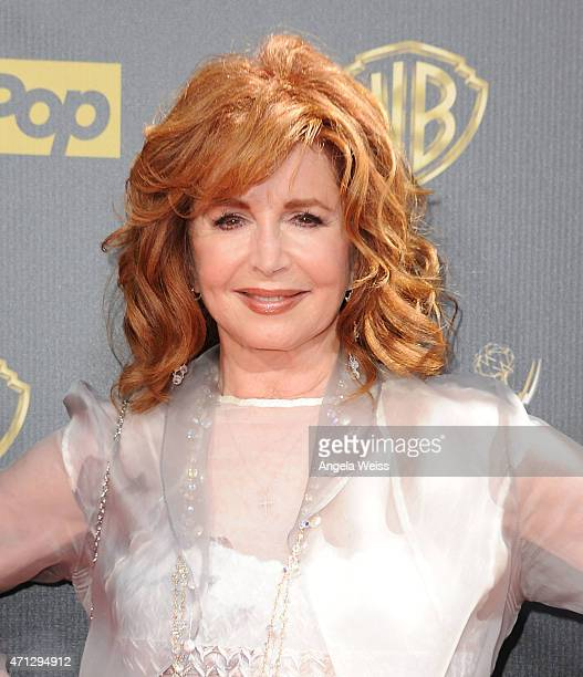 Actress Suzanne Rogers arrives at the 42nd Annual Daytime Emmy Awards at Warner Bros Studios on April 26 2015 in Burbank California