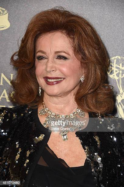 Actress Suzanne Rogers attends The 41st Annual Daytime Emmy Awards at The Beverly Hilton Hotel on June 22 2014 in Beverly Hills California