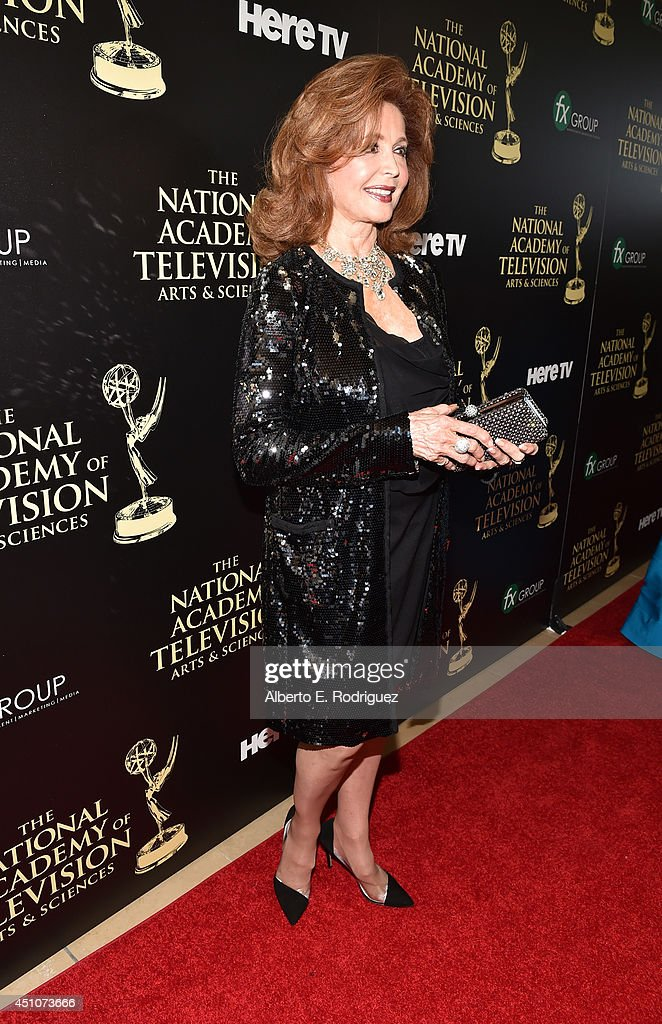 Actress <a gi-track='captionPersonalityLinkClicked' href=/galleries/search?phrase=Suzanne+Rogers+-+Actress&family=editorial&specificpeople=13902592 ng-click='$event.stopPropagation()'>Suzanne Rogers</a> attends The 41st Annual Daytime Emmy Awards at The Beverly Hilton Hotel on June 22, 2014 in Beverly Hills, California.