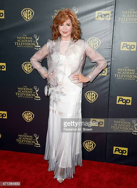 Actress Suzanne Rogers attends The 42nd Annual Daytime Emmy Awards at Warner Bros Studios on April 26 2015 in Burbank California