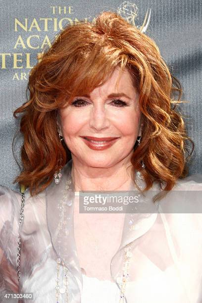 Actress Suzanne Rogers attends the 42nd annual Daytime Emmy Awards held at Warner Bros Studios on April 26 2015 in Burbank California