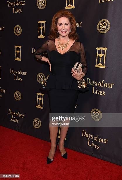 Actress Suzanne Rogers attends the Days Of Our Lives' 50th Anniversary Celebration at Hollywood Palladium on November 7 2015 in Los Angeles California