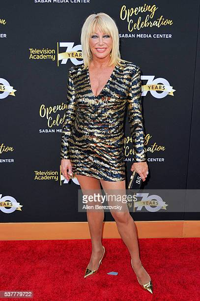 Actress Suzanne Somers attends the Television Academy's 70th Anniversary Gala on June 2 2016 in Los Angeles California