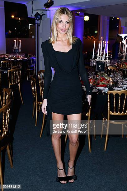 Actress Sveva Alviti attends the Annual Charity Dinner hosted by the AEM Association Children of the World for Rwanda Held at Espace Cardin on...
