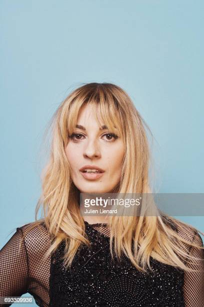 Actress Sveva Alviti is photographed for Self Assignment on February 2 2017 in Paris France