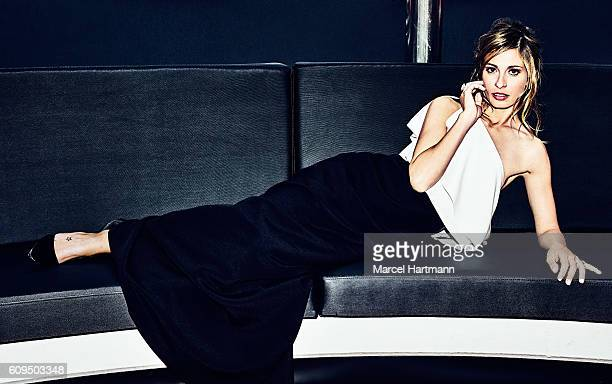 Actress Sveva Alviti is photographed for Vanity Fair Italy on May 12 2016 in Cannes France