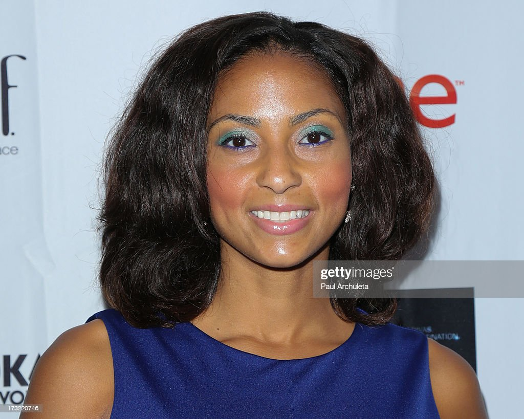 Actress Sweetie Sherrie attends TV One's new series 'R&B Divas LA' launch party at The London Hotel on July 9, 2013 in West Hollywood, California.