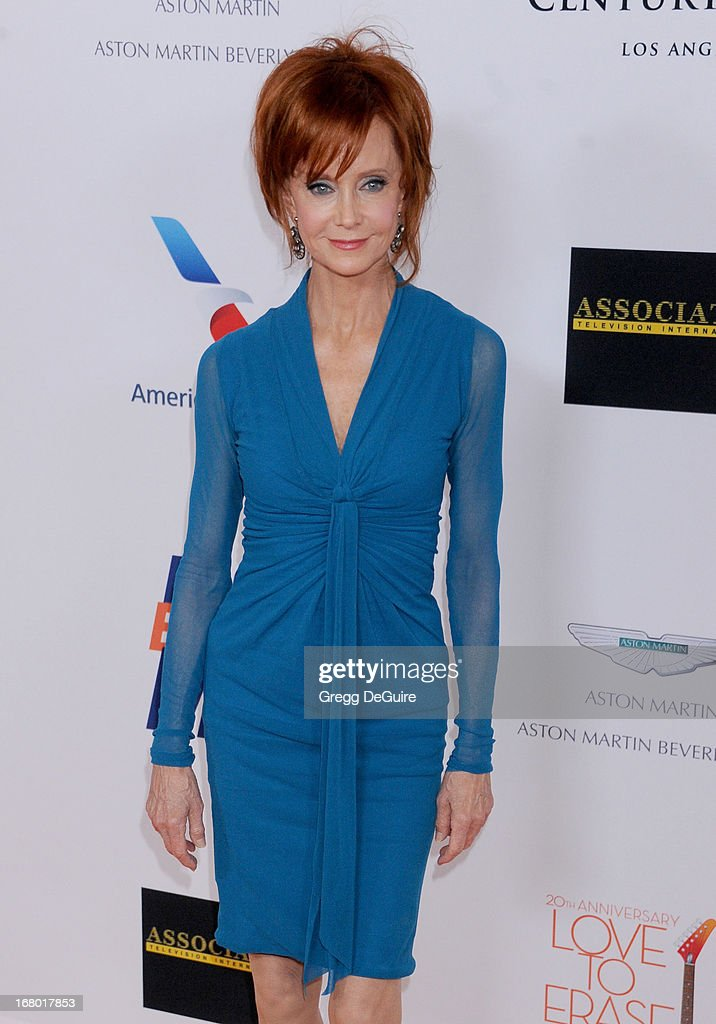 Actress Swoosie Kurtz arrives at the 20th Annual Race To Erase MS Gala 'Love To Erase MS' at the Hyatt Regency Century Plaza on May 3, 2013 in Century City, California.