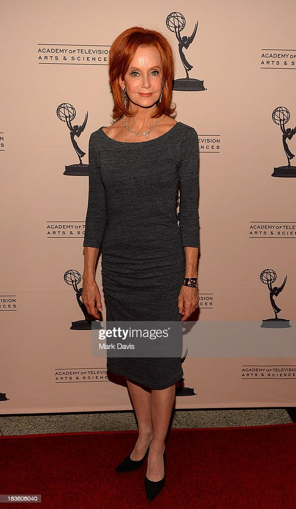Actress Swoosie Kurtz attends The Academy Of Television Arts & Sciences' Presents An Evening Honoring James Burrows held at the Academy of Television Arts & Sciences on October 7, 2013 in North Hollywood, California.