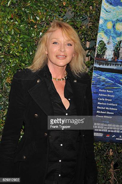 Actress Sybil Danning arrives at the premiere of Sony Pictures Classics' 'Midnight In Paris' held at the Academy of Motion Picture Arts and Sciences'...