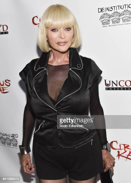 Actress Sybil Danning attends the premiere of Uncork'd Entertainment's 'Circus Kane' at Laemmle's Ahrya Fine Arts Theatre on August 30 2017 in...