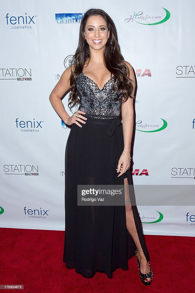 Actress Syd Wilder arrives at Playboy Radio's Hollywood Casino Night benefiting The Leukemia & Lymphoma Society's Hodgkins Haters at W Hollywood on August 1, 2013 in Hollywood, California.