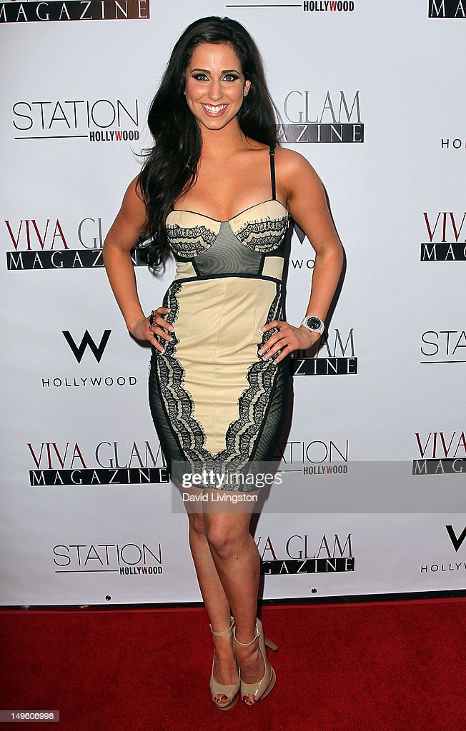 Actress Syd Wilder attends the Viva Glam Magazine September Issue launch party at Station Hollywood on July 31, 2012 in Hollywood, California.