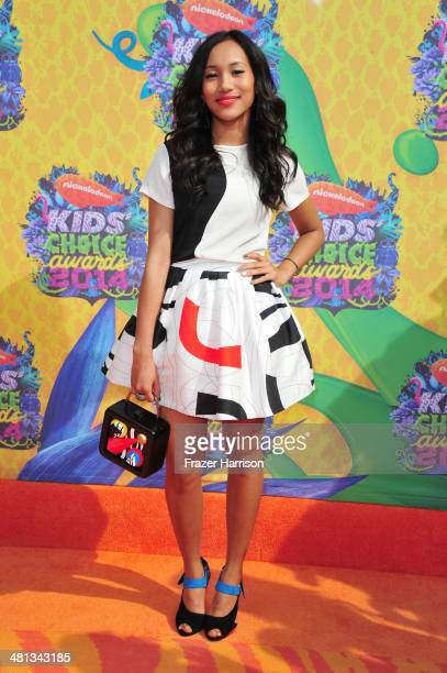 Actress Sydney Park attends Nickelodeon's 27th Annual Kids' Choice Awards held at USC Galen Center on March 29 2014 in Los Angeles California