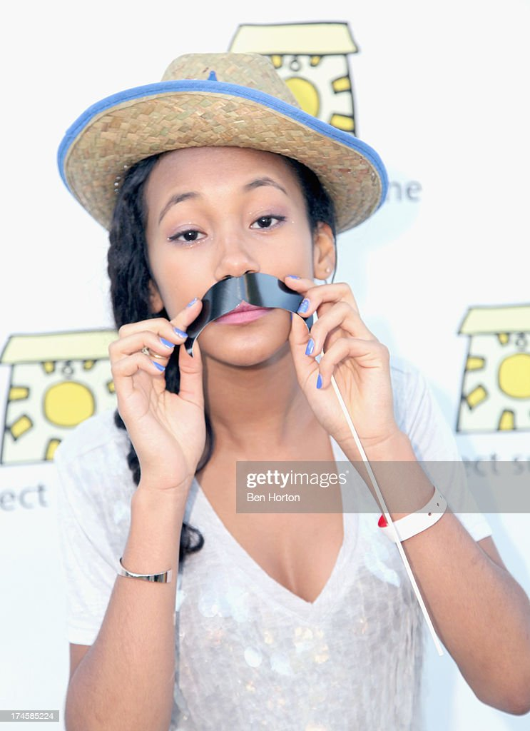 Actress Sydney Park attends Variety's Power of Youth presented by Hasbro, Inc. and generationOn at Universal Studios Backlot on July 27, 2013 in Universal City, California.