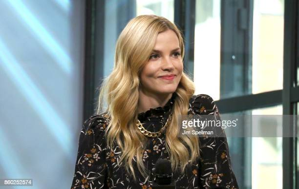 Actress Sylvia Hoeks attends Build to discuss 'Blader Runner 2049' at Build Studio on October 11 2017 in New York City